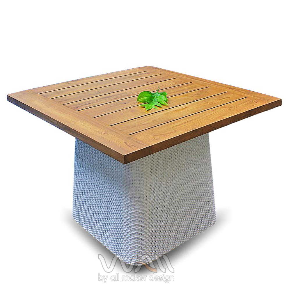 โต๊ะกลางหวายเทียม