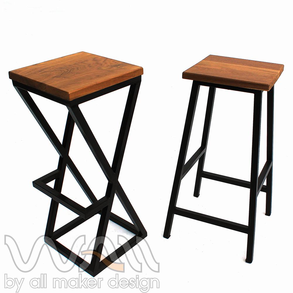 Wood Bar chair