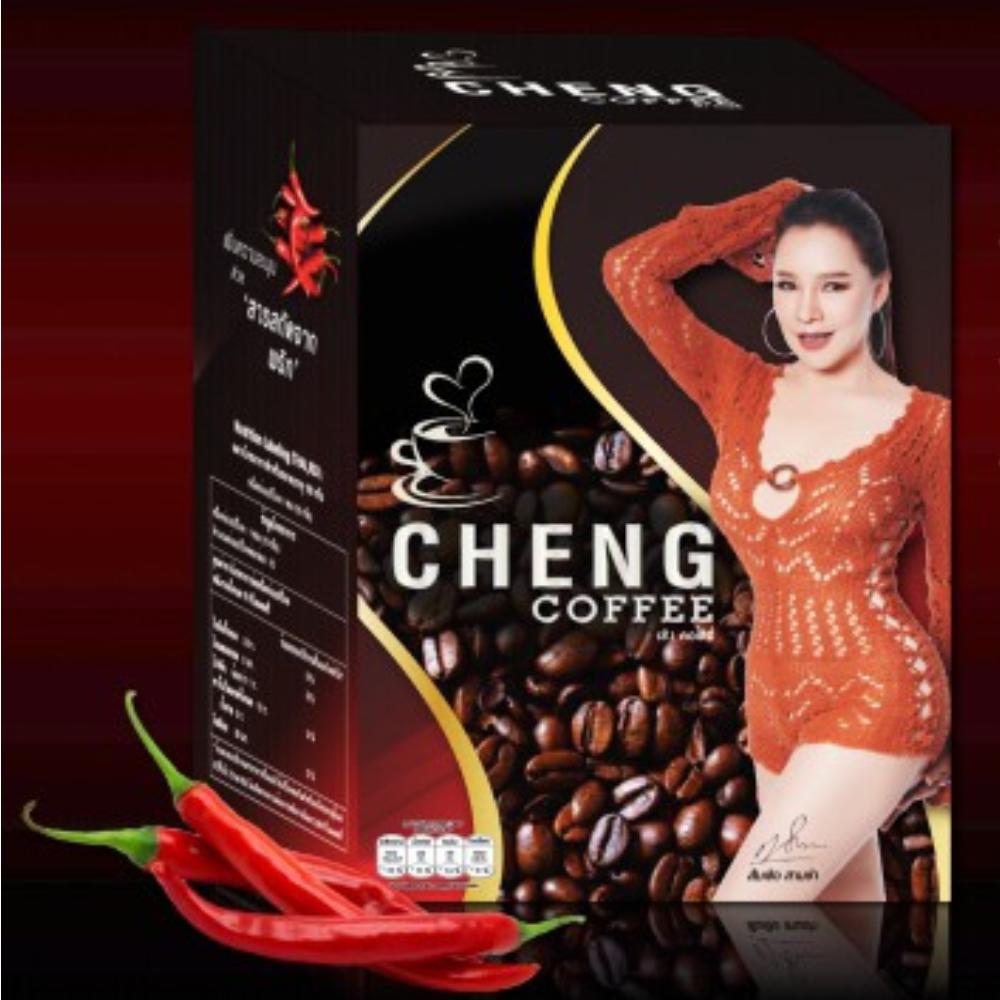 CHENG COFFEE(เช้ง คอฟฟี่)ขนาด 1 กล่อง (บรรจุ 10 ซอง)