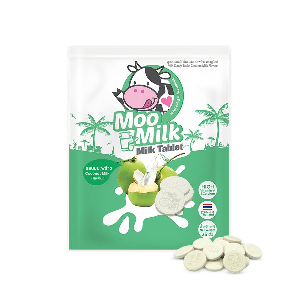 Moomilk Milk Tablet Coconut Milk Flavor