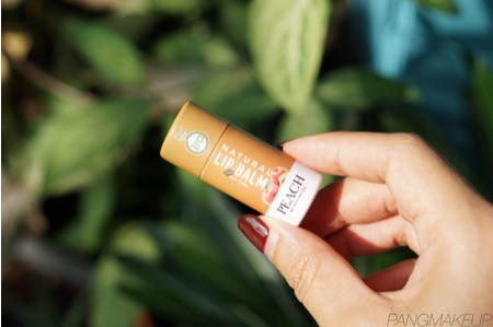 REVIEW : IRA NATURAL LIP BALM ECO TUBE PEACH | PANGxMAKEUP