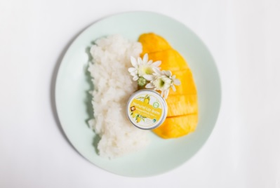 Mango with Sticky Rice Flavored Lip Balm