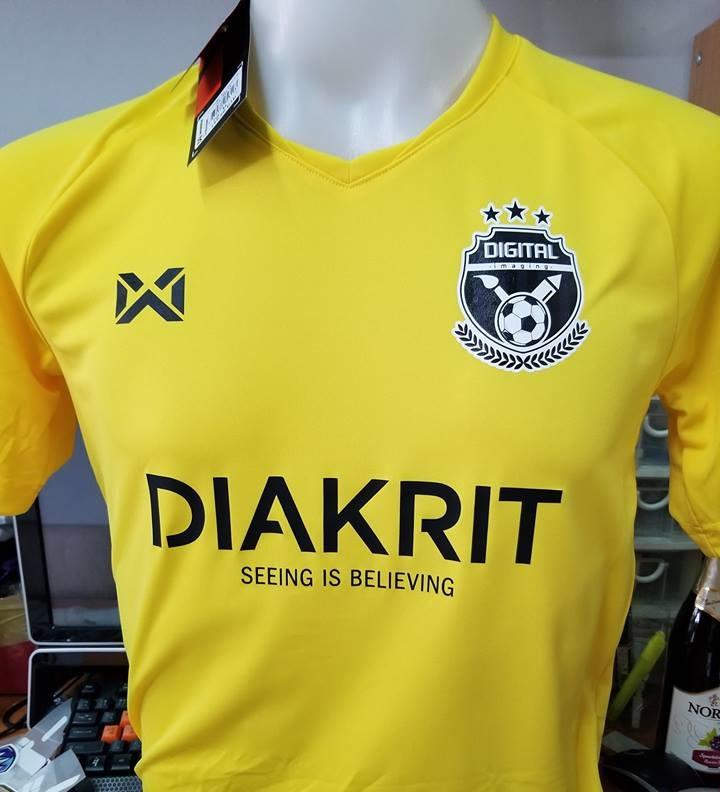 เสื้อฟุตบอล warrix ทีม digital imaging