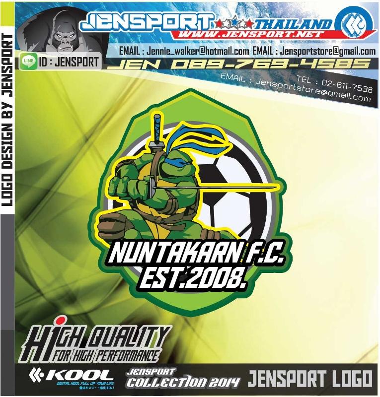ออกแบบโลโก NUNTAKARN-F.C