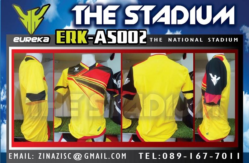 เสื้อ EUREKA ERK-A5002 สี เหลือง แดง ดำ