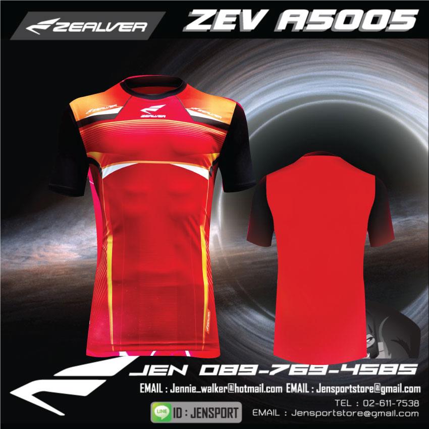 zealver-zev-a5005-สีแดงดำ