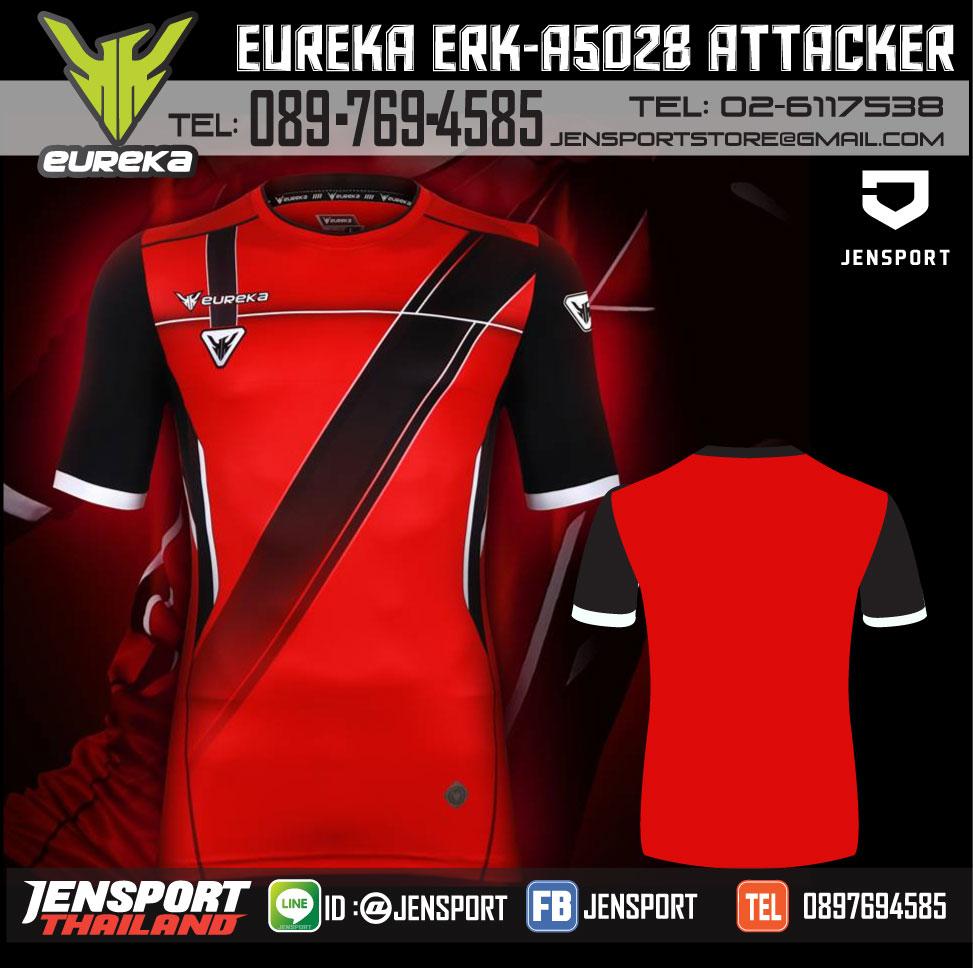 เสื้อ Eureka ERK-a5028 สีแดง