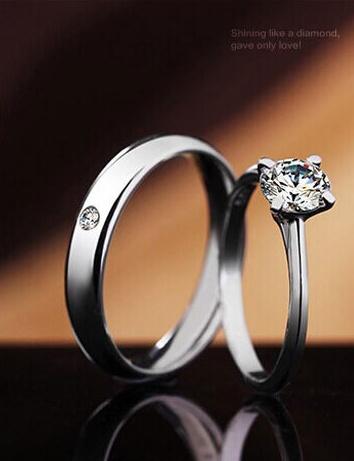 แหวนคู่รัก เงิน925