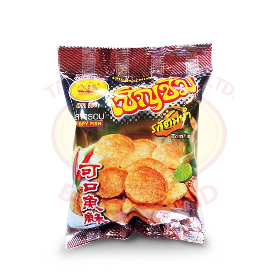 ปลากรอบ รสต้มยำ (Crispy Fish Tomyum Flavor) ไซด์มินิ