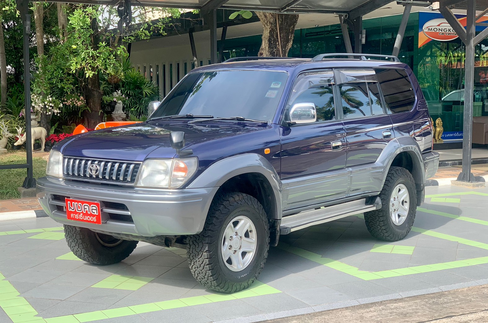 TOYOTA PRADO 95 3.4 V6 4WD AT 1997 (LC588)