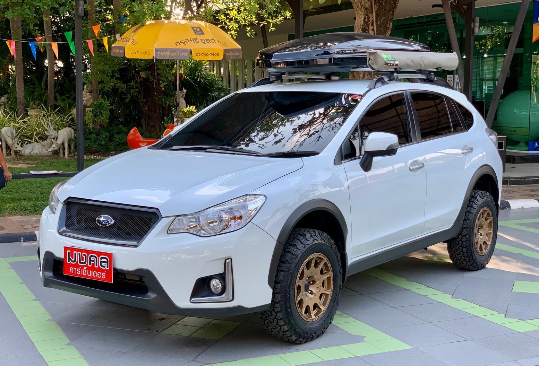 SUBARU XV 2.0 I-P 4WD A/T 2016 สีขาว (LZ0097)