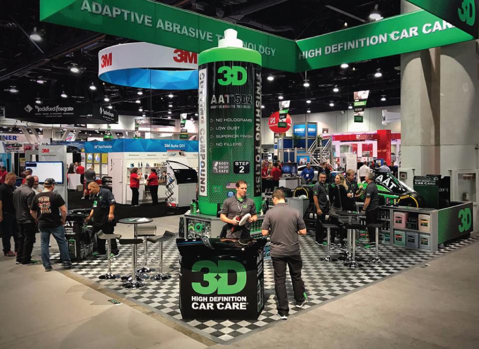 เยี่ยมชมบูท 3D Products ได้ที่งานจัดแสดงมหกรรมยานยนต์ SEMA SHOW 2016 Las Vegas USA