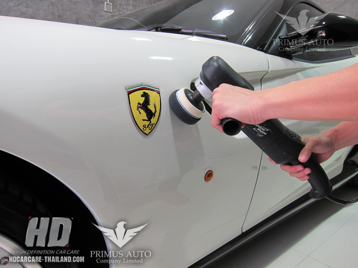 Ferrari 599 Detailing & Hard Glass Coating