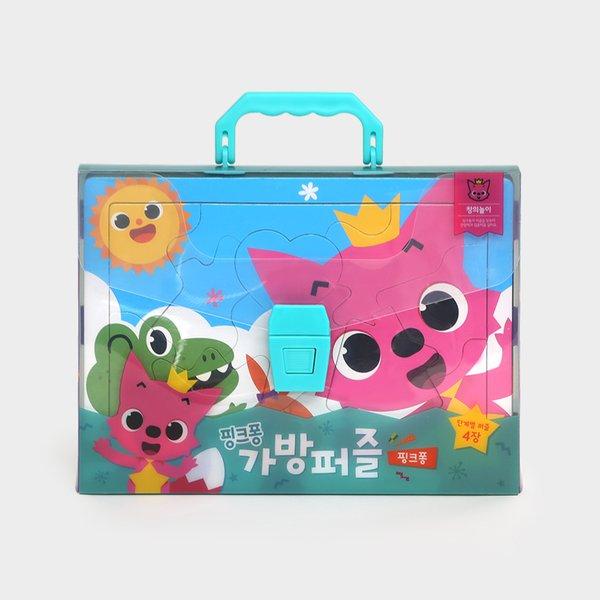 Pinkfong จิ๊กซอว์กระเป๋า รวม 4 แบบ ลาย Pinkfong สำหรับเด็ก ลิขสิทธิ์แท้