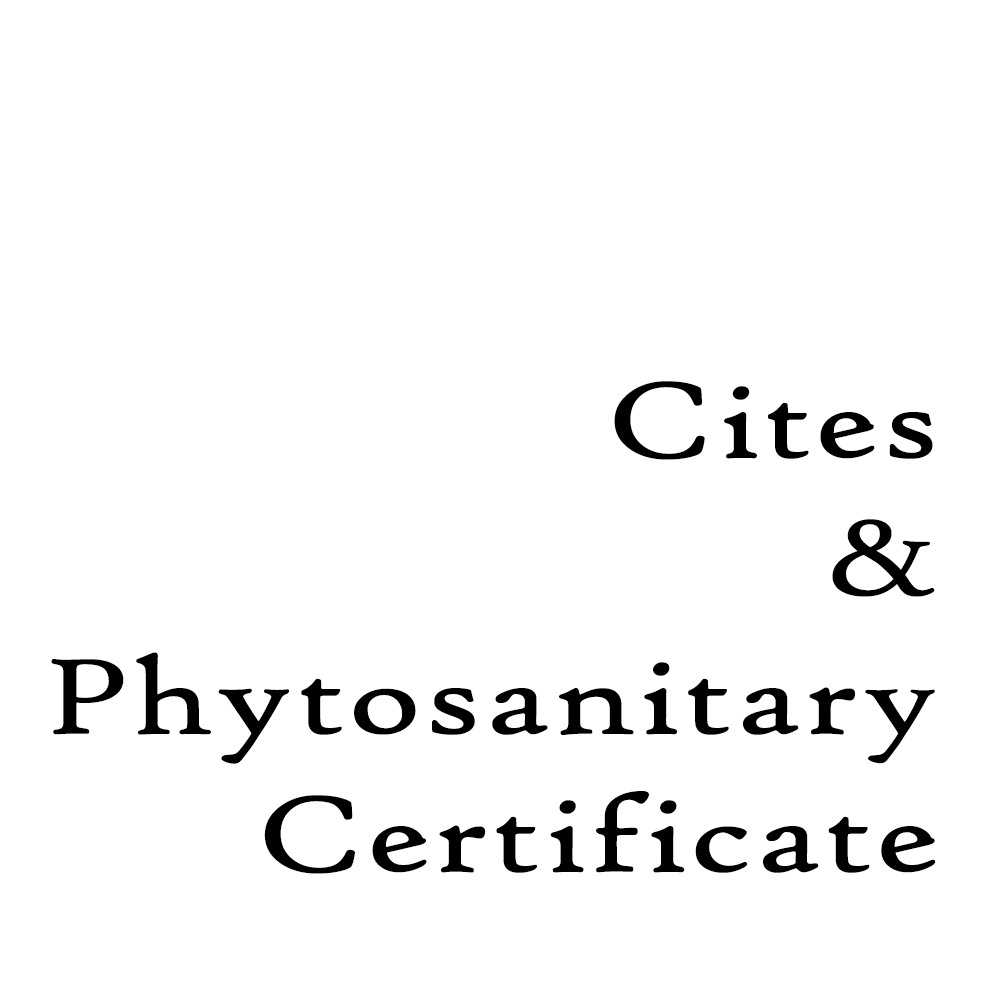 Cites and Phytosanitary Certificate