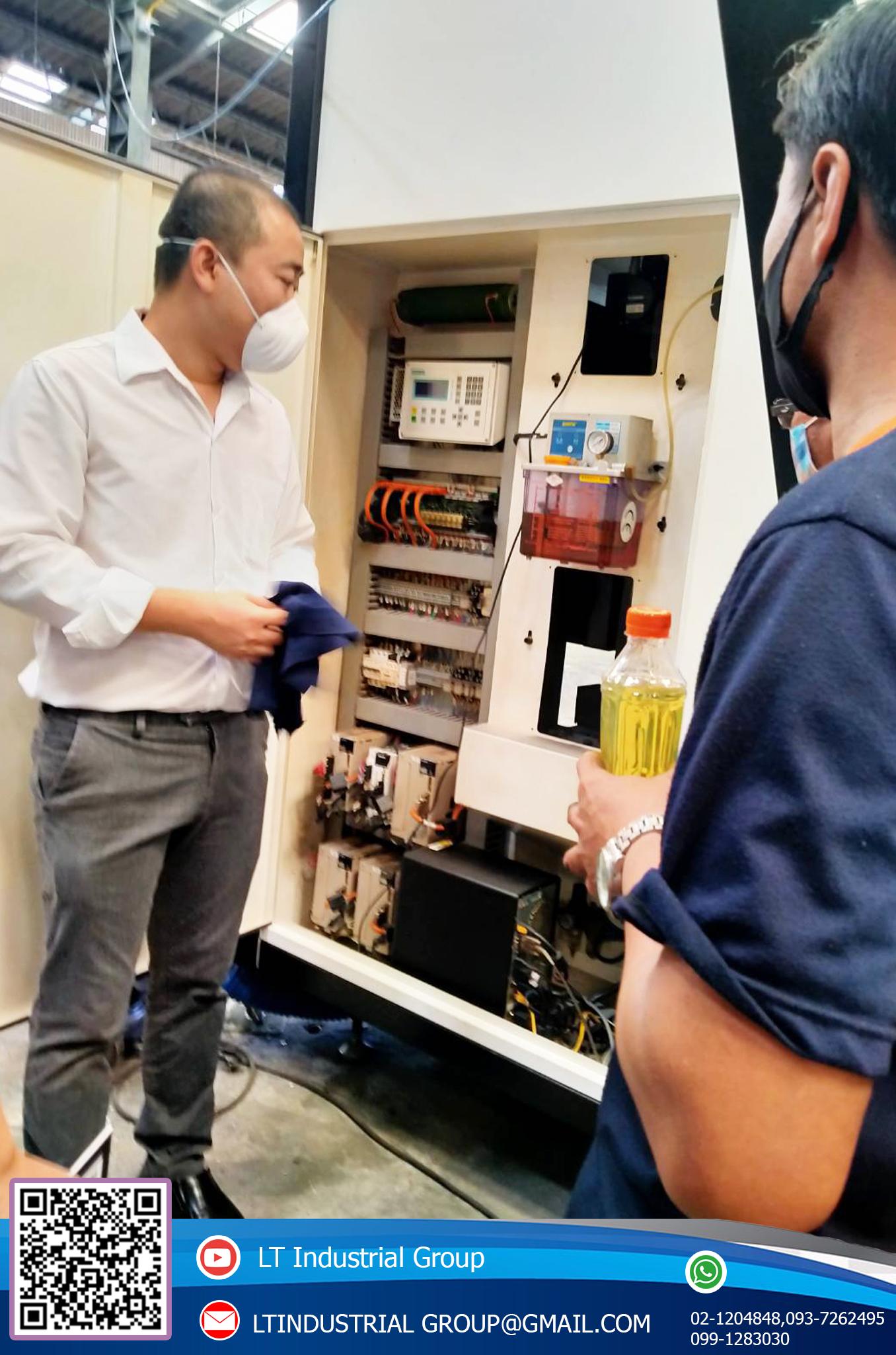 บริการให้คำแนะนำเกี่ยวกับการใช้เครื่อง fiber laser ให้ลูกค้า