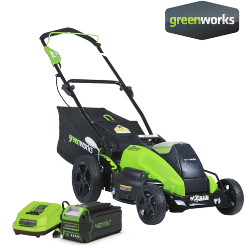 Greenworks Lawnmower Battery 40V Including Battery Aand Charger