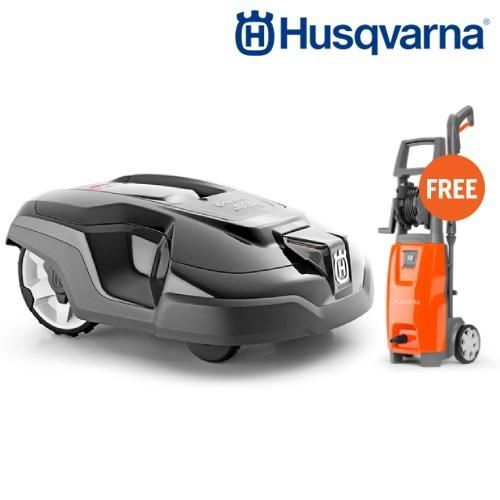 Husqvarna Automower AM315 FREE High Pressure Washer PW125(8,000฿)