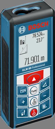 เครื่องวัดระยะด้วยเลเซอร์ บ๊อช GLM 80 Professional