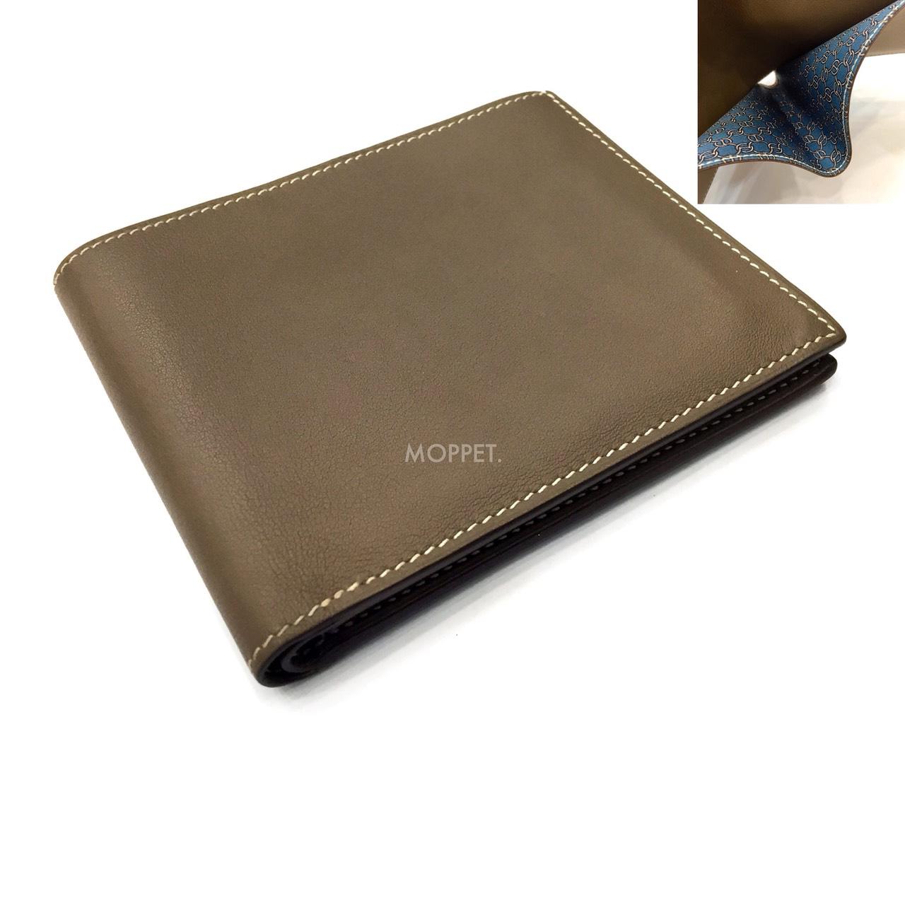 Used Hermes MC2 Wallet in Etoupe Swift