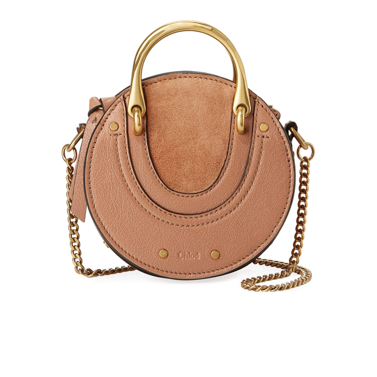 New Chloe Pixie Minibag in Nougat Leather GHW