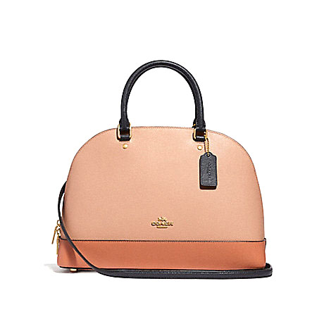New Coach Sierra Bag in Sunrise Leather GHW