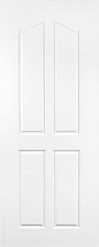ประตู UPVC (H10) 4 ช่องโค้ง