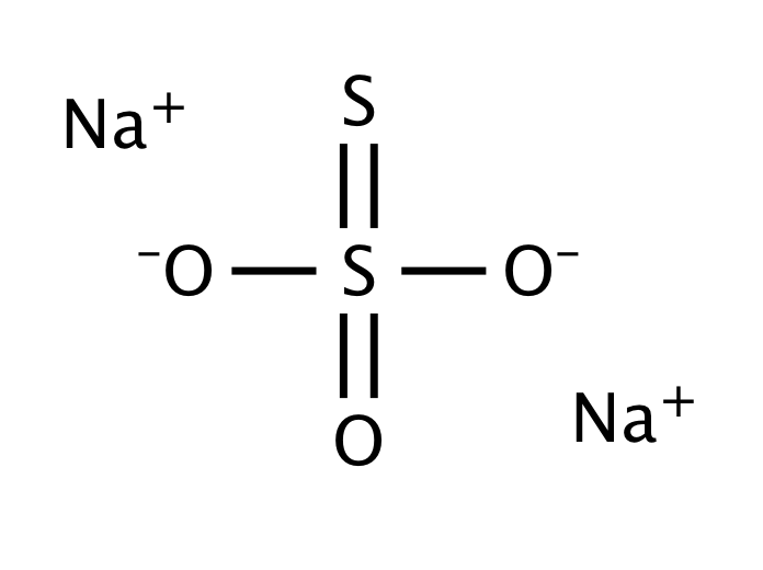 Sodium thiosulfate, anhydrous