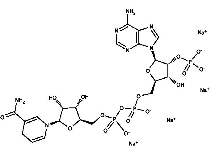 b-Nicotinamide-adenine dinucleotide phosphate tetrasodium salt, reduced