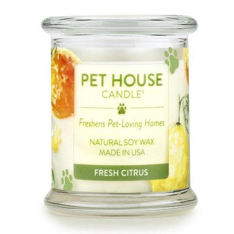 Pet House Candle - Fresh Citrus 8.5 oz