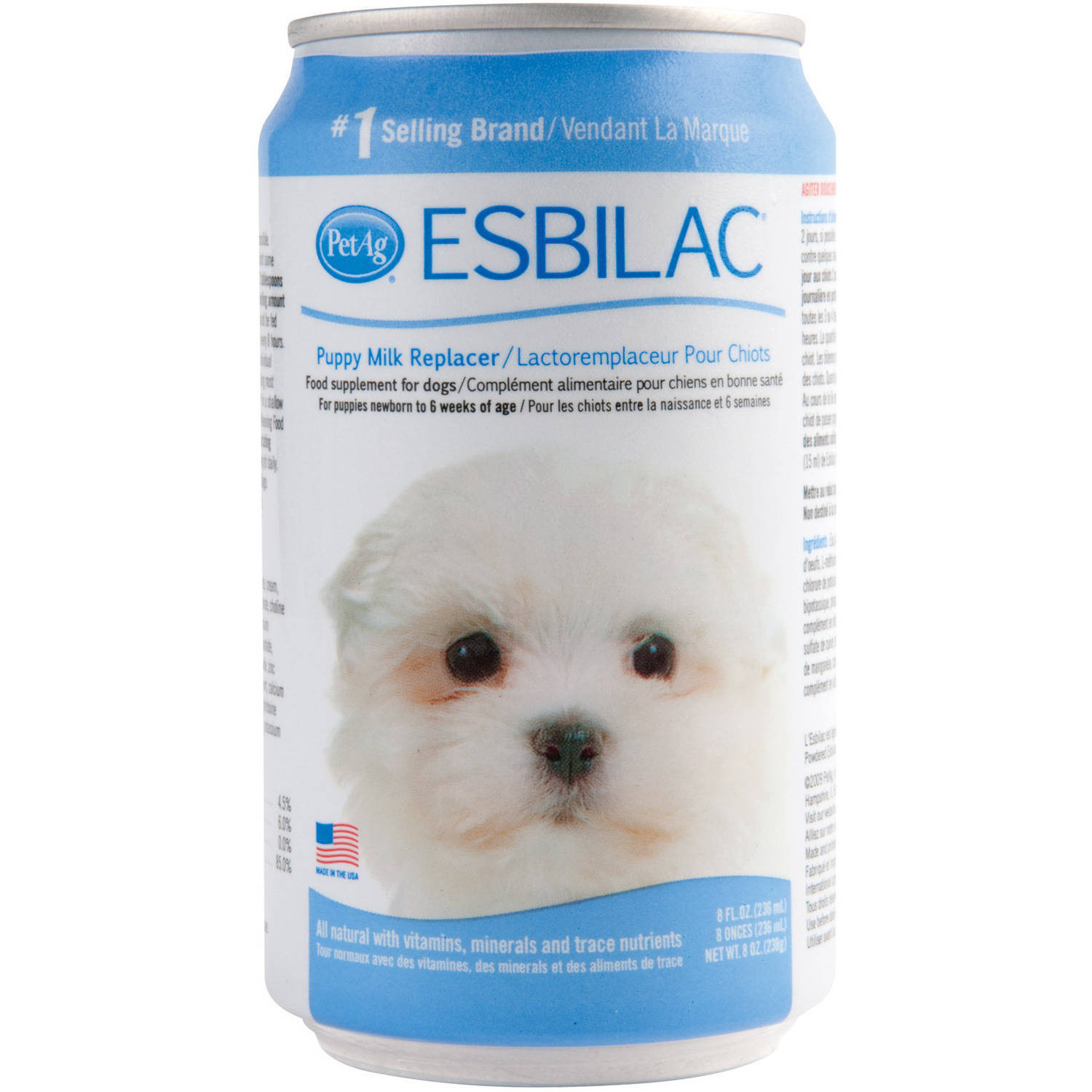 Esbilac Liquid Milk Replacer for Puppy (236ml)