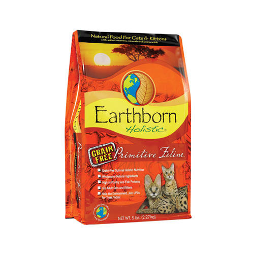 Earthborn Holistic Primitive Feline Grain Free (2.5 kg.)