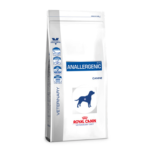 Royal Canin Vet Diet Dog Anallergenic (3 kg.)