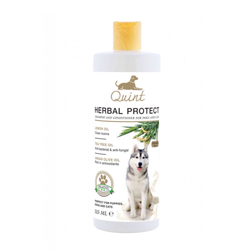 Quint Organic Herbal Protect Shampoo (515 ml.)