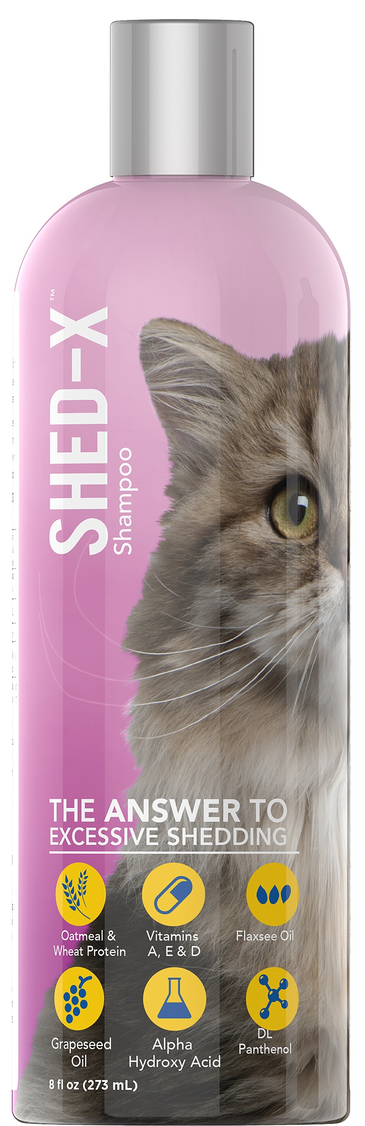Shed-X Control Shampoo for Cats (237 ml.)