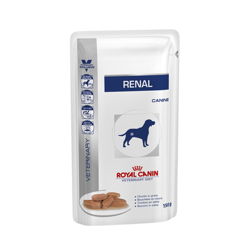 Royal Canin Vet Diet Dog Renal Chunk In Gravy Pouch (150 g.)