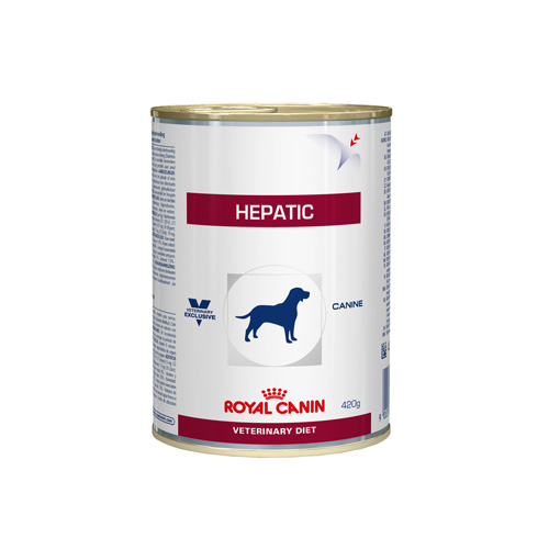 Royal Canin Vet Diet Dog Hepatic Canned (420 g.)