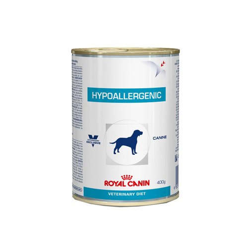 Royal Canin Vet Diet Dog Hypoallergenic Canned (400 g.)
