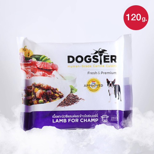 Dogster Lamb for Champ (120 g.)