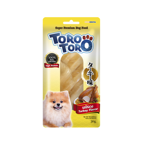Toro Toro Dog Snack Turkey Flavor (30 g.)
