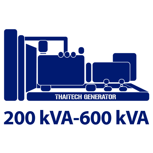 200 kVA - 600 kVA
