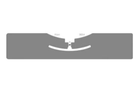 Alien G RFID White Wet Inlay (ALN-9654, Higgs-3)