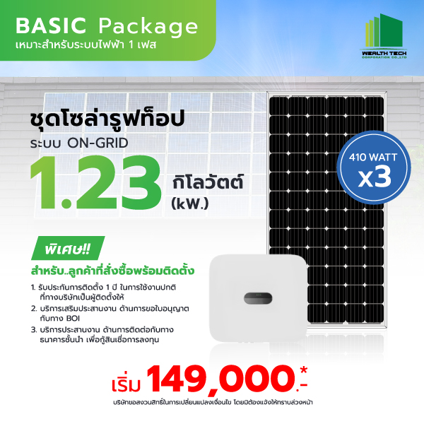 Basic Package 1.23 kW.