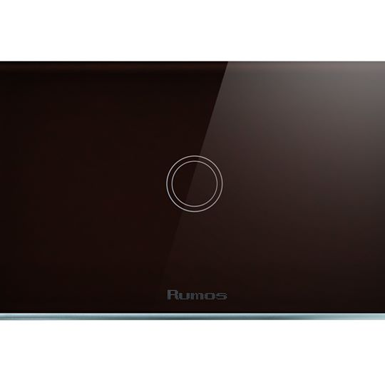 Rumos touch switch 1 gang 2  way BLACK