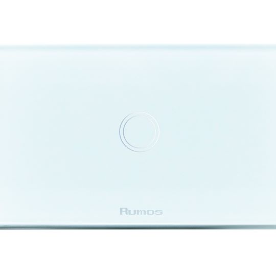 Rumos touch switch 1 gang 2 way Royal white with remote function