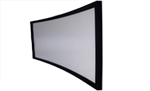 จอโค้ง fix frame 100 นิ้ว R=6000mm 16:9