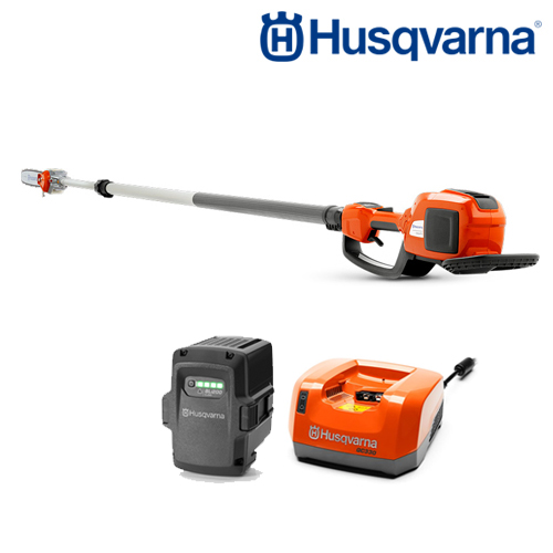 HUSQVARNA BATTERY POLE SAW 36V INCLUDING BATTERY AND CHARGER