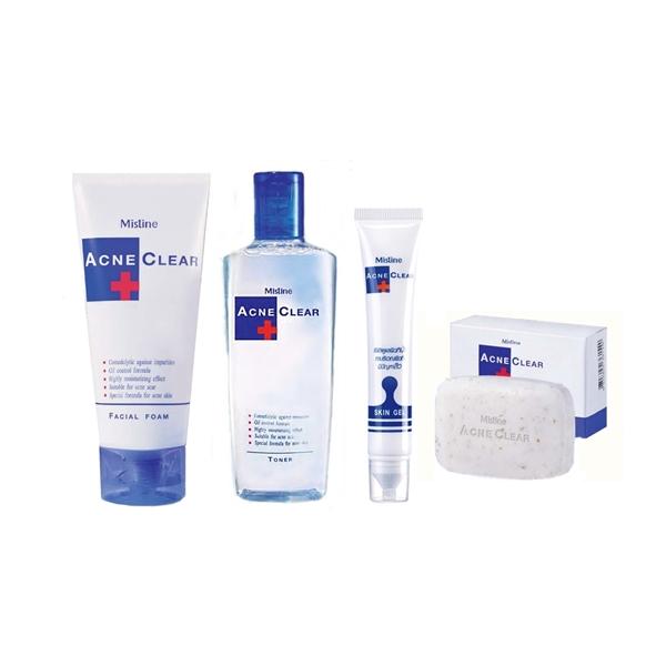 ผลิตภัณฑ์ดูแลผิวที่มีปัญหาสิว Mistine Acne Clear