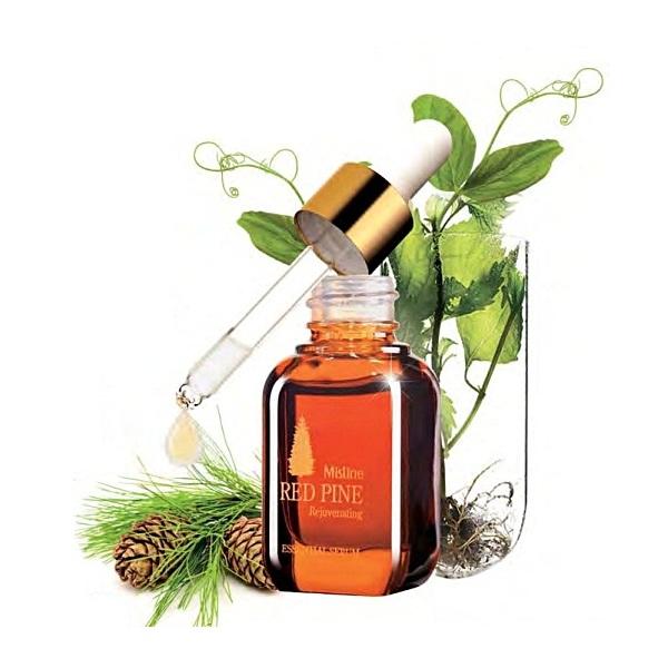 Mistine Red Pine Rejuvenating Essential Serum 8 ml.