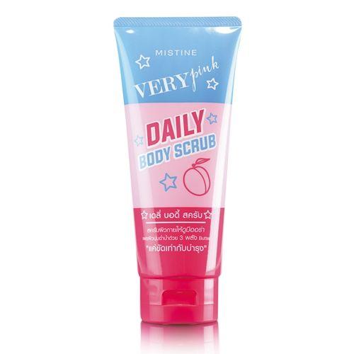 Mistine Very Pink  Daily Body Scrub 200 g.